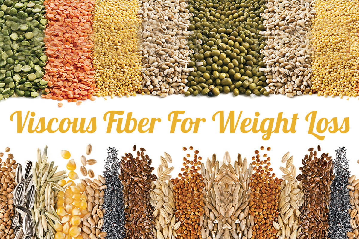 Viscous Fiber Diet: Weight Loss Management Benefits ...