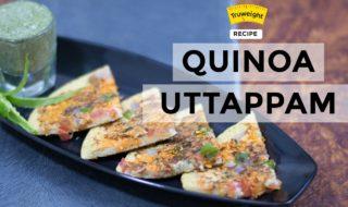 Quinoa Uttappam Recipe