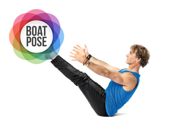 Boat Pose for Yoga to reduce belly fat