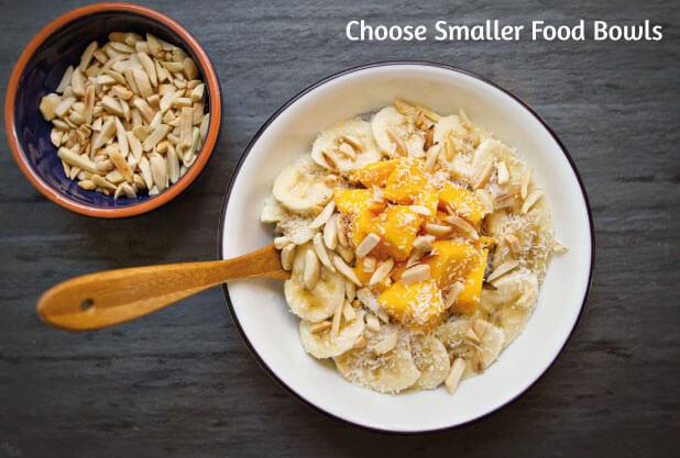 Get smaller food bowls