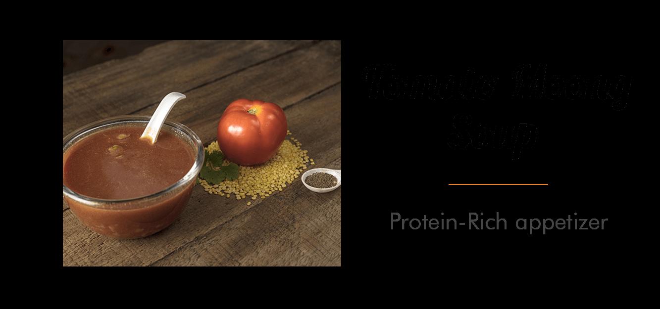 Tomato Moong Soup