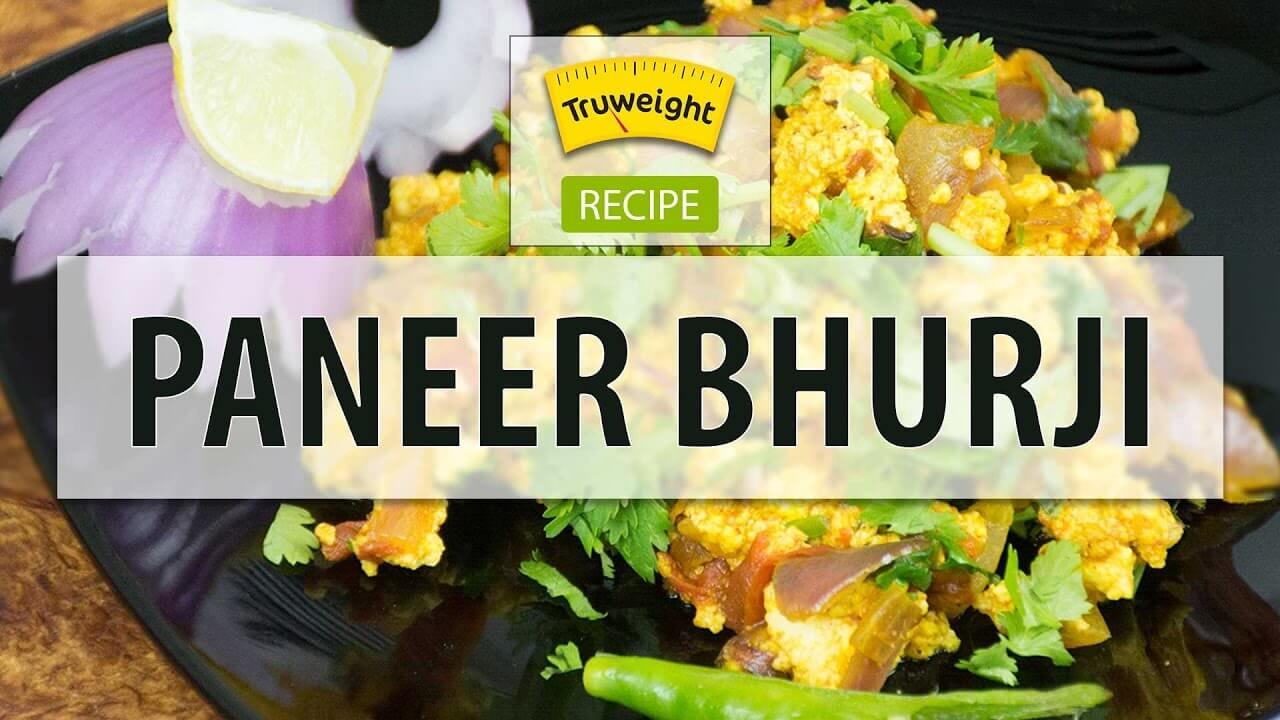 Best Dry Paneer Bhurji Recipe |  Truweight