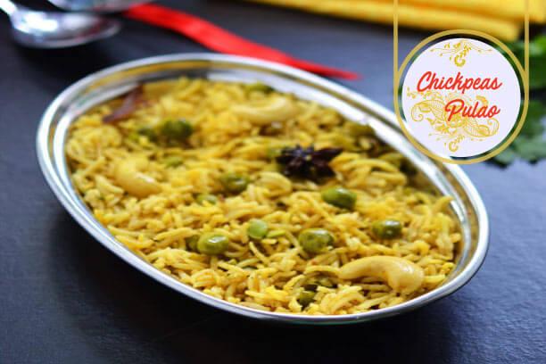 Chickpeas Pulao for Muharram recipe