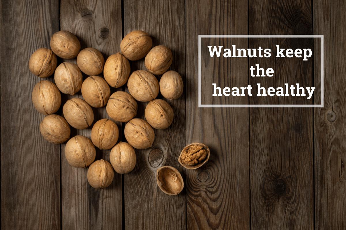 walnut for healthy heart