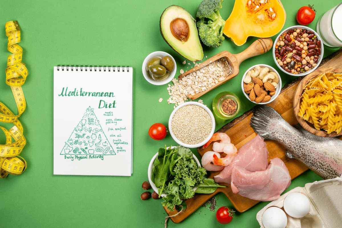 Mediterranean Diet for healthy weight loss