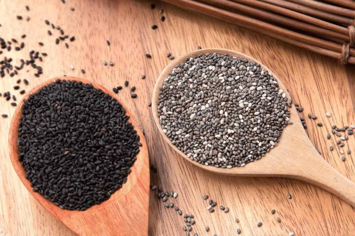 Différence entre les graines de chia et les graines de Sabja